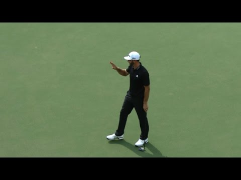 Dustin Johnson Round 3 highlights from the TOUR Championship