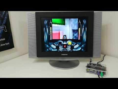 Testing the Sidewinder Amiga FPGA