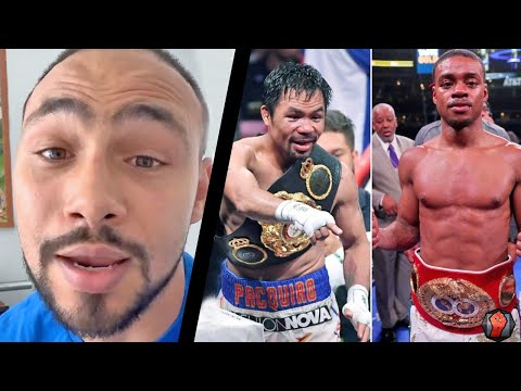 """KEITH THURMAN WARNS MANNY PACQUIAO ABOUT ERROL SPENCE JR FIGHT """"HES ONLY GONNA GET SHARPER"""""""