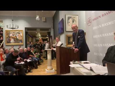 Det dyreste maleri solgt på auktion i Danmark
