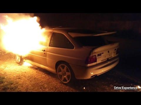 L'incidente della Escort Cosworth di Bulldozer – Davide Cironi Drive Experience (ENG.SUBS)
