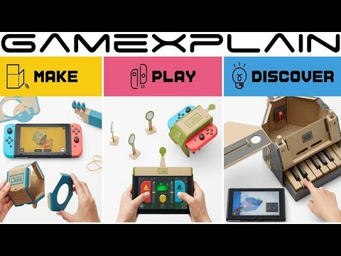 connectYoutube - Nintendo Labo Pricing & Package Details Revealed