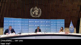 Media briefing on COVID-19