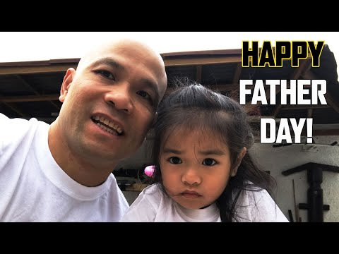 Happy Fathers day from me and my daughter | Master Wong