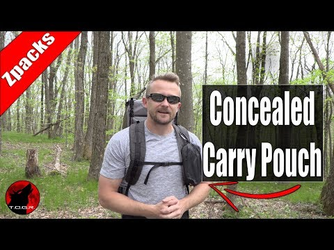 Backpacking and Hiking Concealed Carry Pouch - Zpacks Pouch