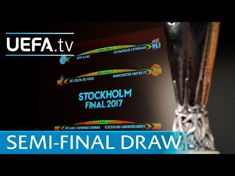 Watch the full UEFA Europa League semi-final draw 2016/17