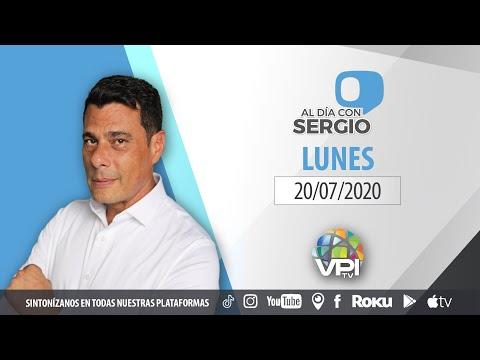 EN VIVO - Al Día con Sergio Novelli - Lunes 20 de Julio