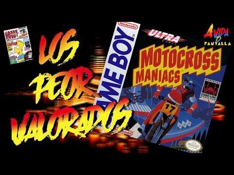 AVOP: Los Peor Valorados. Hoy, Motocross Maniacs de Gameboy