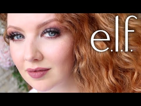 Trying Makeup I've Not Ever Tried Before from ELF (Mostly)!