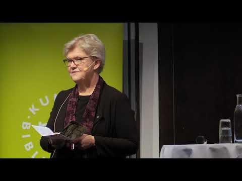 Riksbibliotekarie Gunilla Herdenberg hälsar välkommen