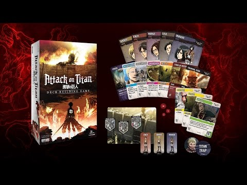 Attack on Titan - Deck-building Game