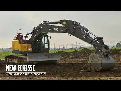 Volvo EWR170E, EW220E och ECR355E - kundfördelar och funktioner