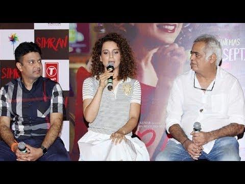 Simran - Full Trailer Launch Video | Kangana Ranut, Hansal Mehta