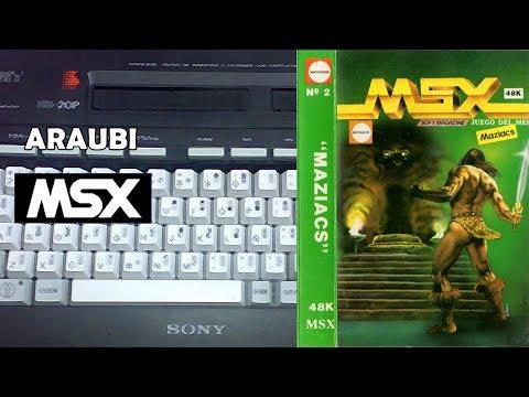 Maziacs (DK'Tronics, 1985) MSX [693] Walkthrough