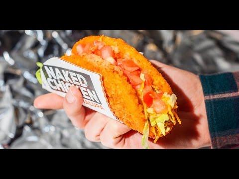 Taco Bell Naked Chicken Chalupa taste-test