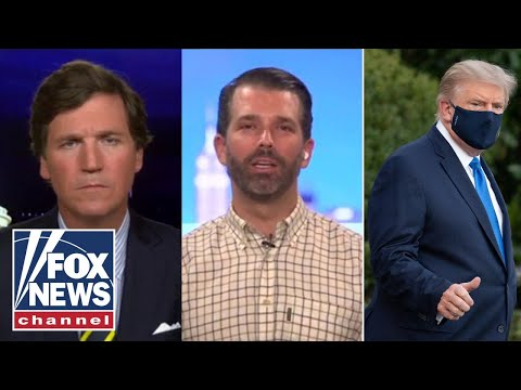 Don Jr. gives update on Trump's health exclusively on 'Tucker'