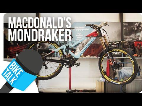 Bike Talk - Brook Macdonald's Mondraker Summum | SHIMANO