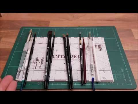 Warhammer / Tabletop für Anfänger HD★ Pinsel Sortiment/ Marken/ Arten ★ How to paint by Murexx