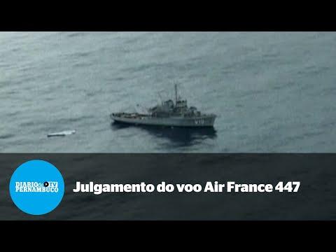 Air France e Airbus serão julgadas pelo voo 447 Rio-Paris
