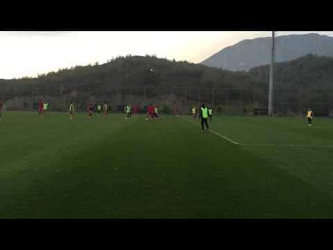Видео тренировок на УТС в Турции