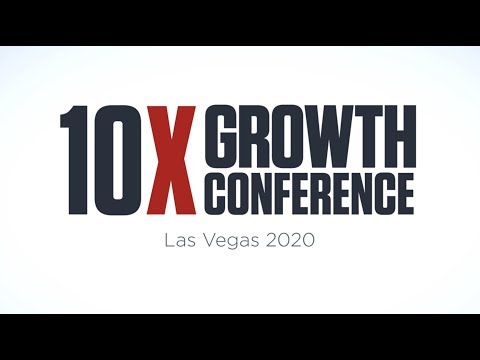 10X Growth Conference 2020 Speaker Line Up photo