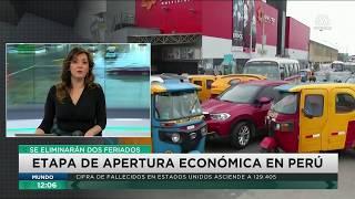Coronavirus en Perú | Eliminarán dos feriados para reactivar la economía