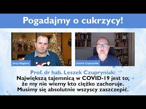 Prof. Leszek Czupryniak: Nie wiemy kto ciężko zachoruje. Musimy się absolutnie wszyscy zaszczepić