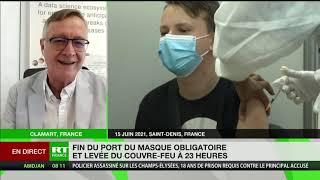Levée partielle des mesures sanitaires en France : «la situation s'améliore très très rapidement»