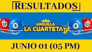 Anguilla Lottery Cuarteta 05 PM Resultados de Hoy 1 de Junio del 2020 Todas Las Loterías Dominicana