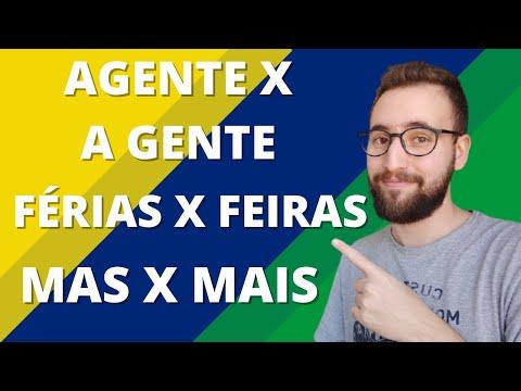 MAS X MAIS, AGENTE X A GENTE, FÉRIAS X FEIRAS