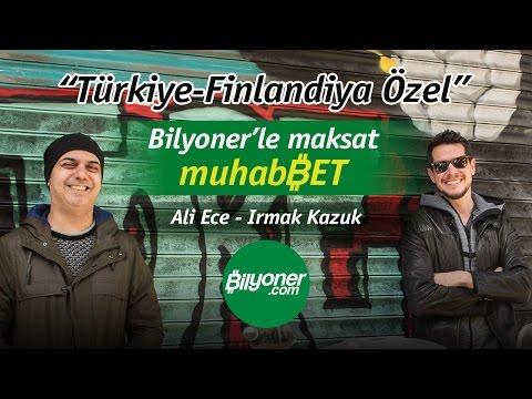 Türkiye-Finlandiya Özel(Bilyoner'le maksat muhabBET)
