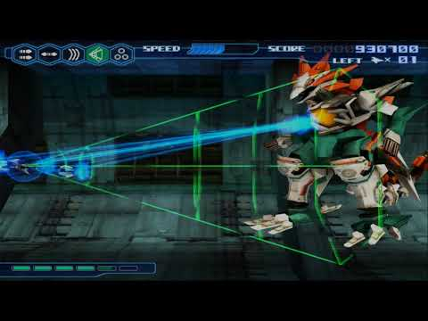 PCSX2 PS2 - Thunder Force VI · Small Test (Shaders)
