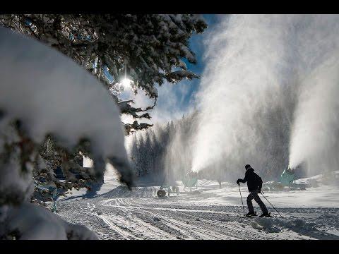 Ski Santa Fe Making Snow