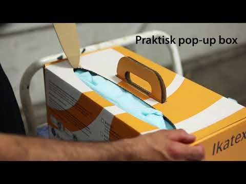 Ikatex® Non-Wovendukar i Bragbox från Ikaros® Cleantech