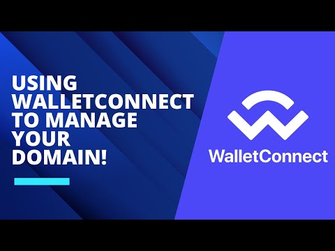 Using WalletConnect to manage your domain!