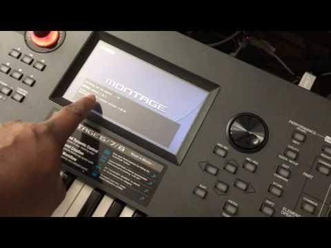 Yamaha Montage 6 Firmware Update Process - BBoyTechReport.com