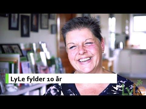 Stiftende og nuværende formand fejrer 10 år med LyLe!
