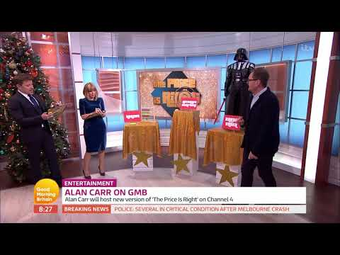 connectYoutube - Alan Carr Plays GMB's 'The Price Is Right'! | Good Morning Britain