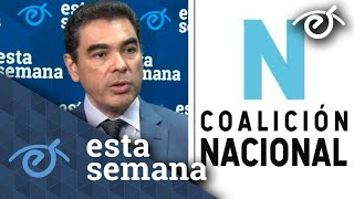 Manuel Orozco: La Coalición Nacional debe organizarse en 200 ciudades