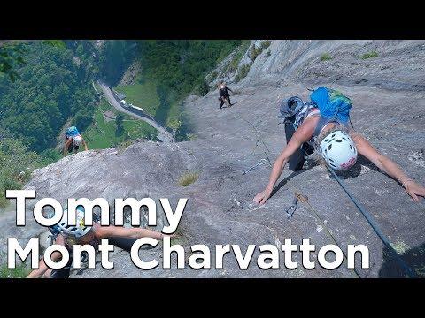 Tommy Mont Charvatton Vallée d'Aoste Italie escalade montagne alpinisme