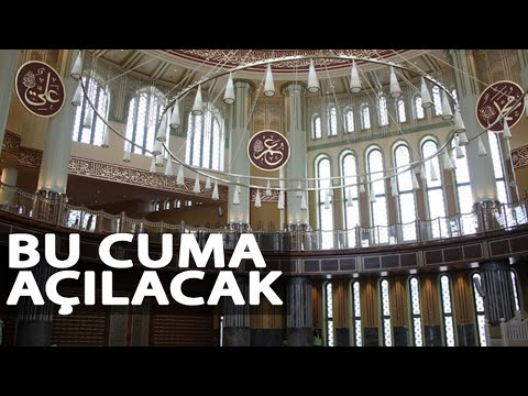 Taksim'de Yapımı Biten Camide Son Rötuşlar
