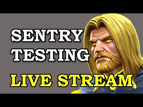 connectYoutube - Sentry Testing - LIVE   Marvel Contest of Champions Live Stream