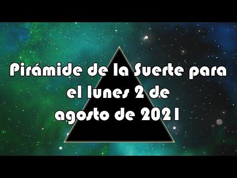 Lotería de Panamá - Pirámide para el lunes 2 de agosto de 2021