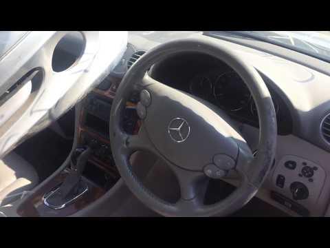 Mercedes-Benz Clk Klasė 2002 m dalys