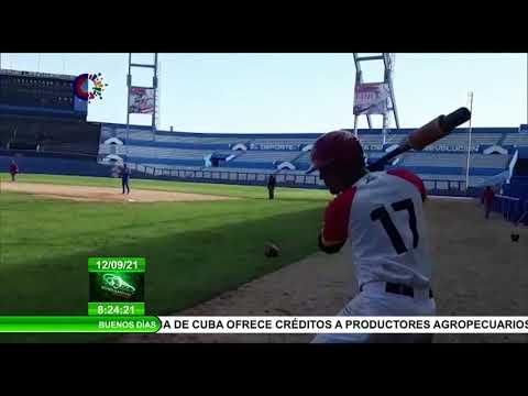 Equipo Cuba Sub 23 se prepara para Campeonato del Mundo de Béisbol