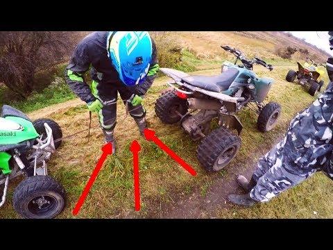 Quad Vlog - Engine explosion while driving - Wybuch silnika na 3 biegu !!!