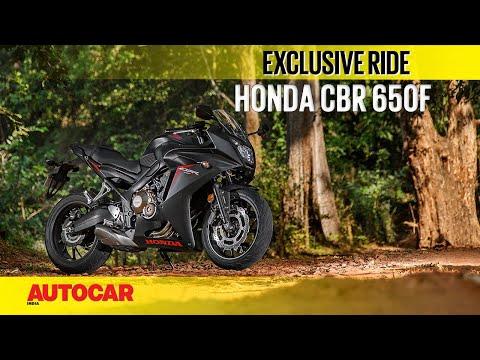 Honda CBR 650F   First Ride   Autocar India