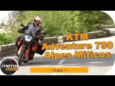 Ruta Alpes Míticos con la KTM 790 Adventure | Etapa 7 | Motosx1000
