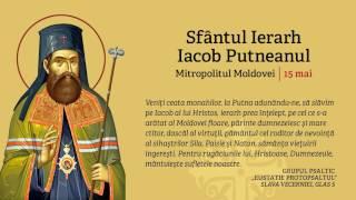 Manastirea Putna - Slava vecerniei la pomenirea Sf. Ier. Iacob Putneanul