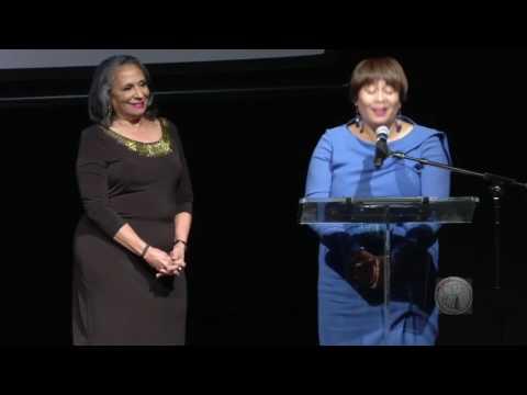 Reel Sisters Presents Hattie McDaniel Award to Cathy Hughes
